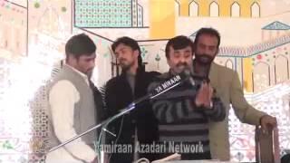 """Zakir Qazi Waseem Abbas """" New Qasida """" 2014 """" Ya Farshe Aza Ya Arzo Samma """""""