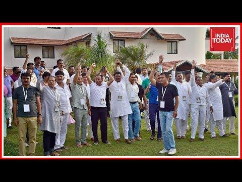 I-T Raids At Karnataka Minister's House, Resort Housing Gujarat Congress MLAs