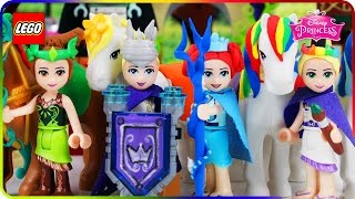 ♥ ENCHANTED GUARDIANS against EVIL GENIUS Disney Princess Superheroes (Episode 1)