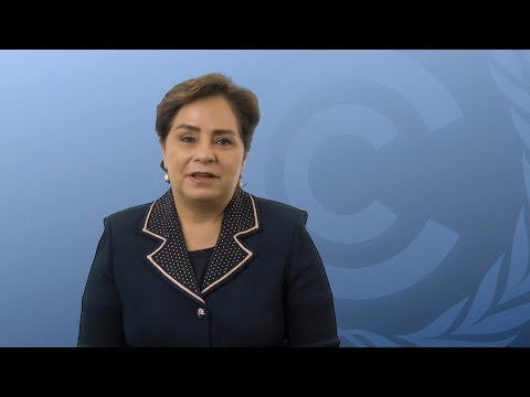 UNFCCC Executive Secretary - Weather Report Exhibition in Bonn, Germany