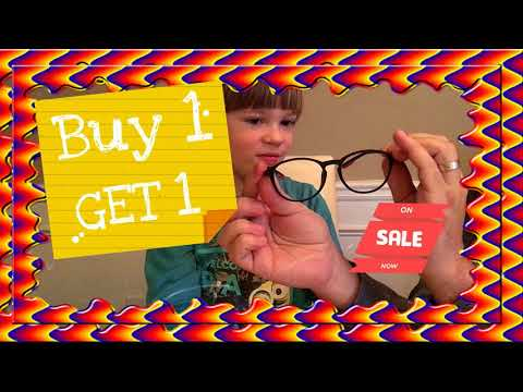 Firmoo Free New Glasses chic optical Frames BOGO offer! Kids Adventures with Sweetie Fella Aleks