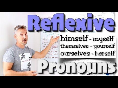 Reflexive Pronouns (TERRIFIC Lesson - Don't miss out !)