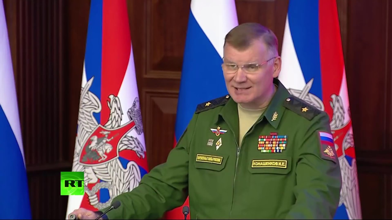 Брифинг Минобороны России об обстоятельствах крушения Ил-20