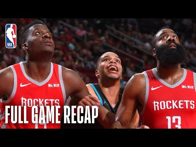 HORNETS vs ROCKETS | Houston Goes For 9th Consecutive Victory | March 11, 2019