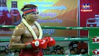Moeun Sokhuch vs Kreangkrai(thai), Khmer Boxing Seatv 31 March 2018, Kun Khmer vs Muay Thai