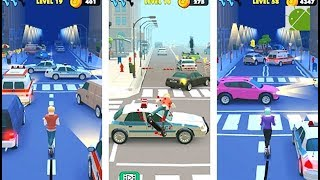 Scooter Ride Obstacle Course Game - Android Gameplay FHD