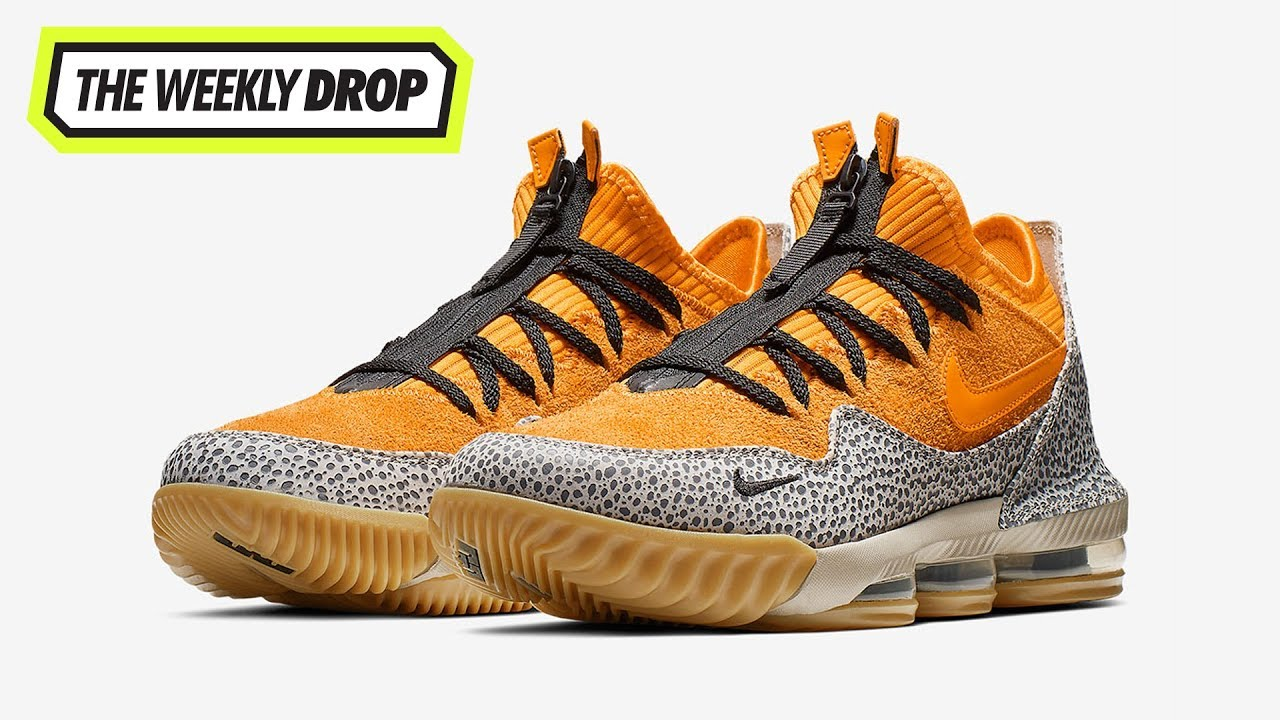 online store 3a0d0 940a3 LeBron 16 Low  Safari  Australian Sneaker Release Info  The Weekly Drop