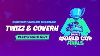 Fortnite World Cup Finals - Player Profile - Twizz & CoverH