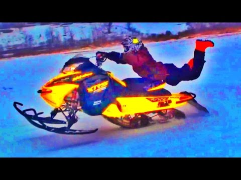 Snowmobile GOON Riding!