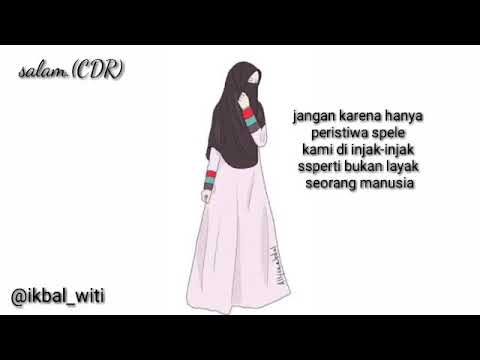 53+ Gambar Animasi Wanita Bercadar