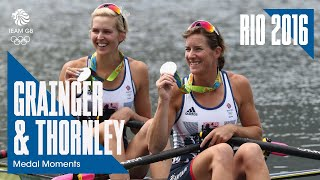 Rio Medal Moments: Grainger and Thornley - Silver | Rowing