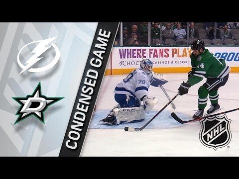 Tampa Bay Lightning vs Dallas Stars – Mar. 01, 2018 | Game Highlights | NHL 2017/18. Обзор