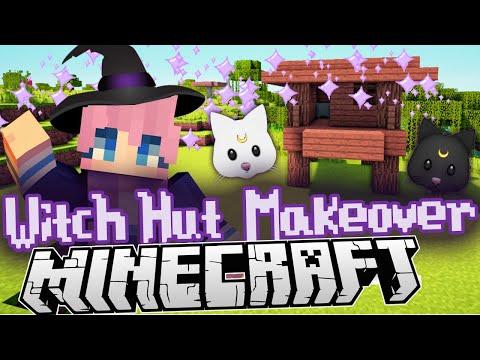 Minecraft Witch Hut Makeover