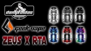 GeekVape Zeus X RTA Review - Top Airflow - Dual / Single Coil Selbstwickler