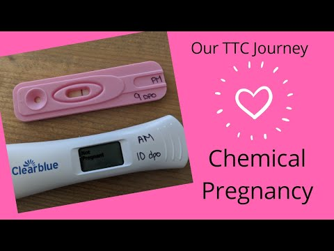 Early Miscarriage or Chemical Pregnancy Overview