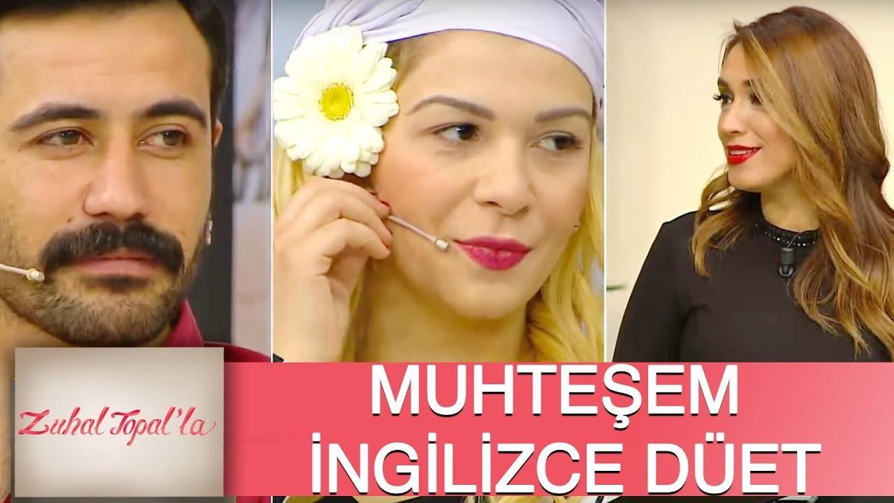 Zuhal Topal'la 112. Bölüm (HD)   Dilek ve İbrahim'den Muhteşem İngilizce Düet!