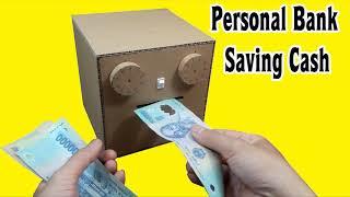 4 Amazing Ideas DIY Safe from Cardboard