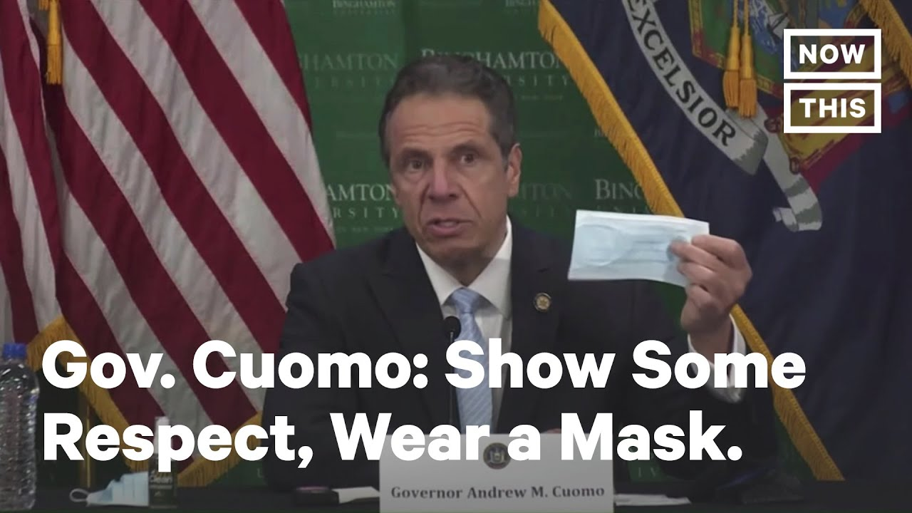 Gov Andrew Cuomo Face Masks Are A Sign Of Respect Nowthis Youtube