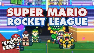 Rocket League, but with Super Mario.
