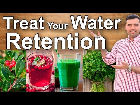 ELIMINATE WATER RETENTION - Home Remedies, Food, And Supplements To Lower Swelling, Fluid Retention