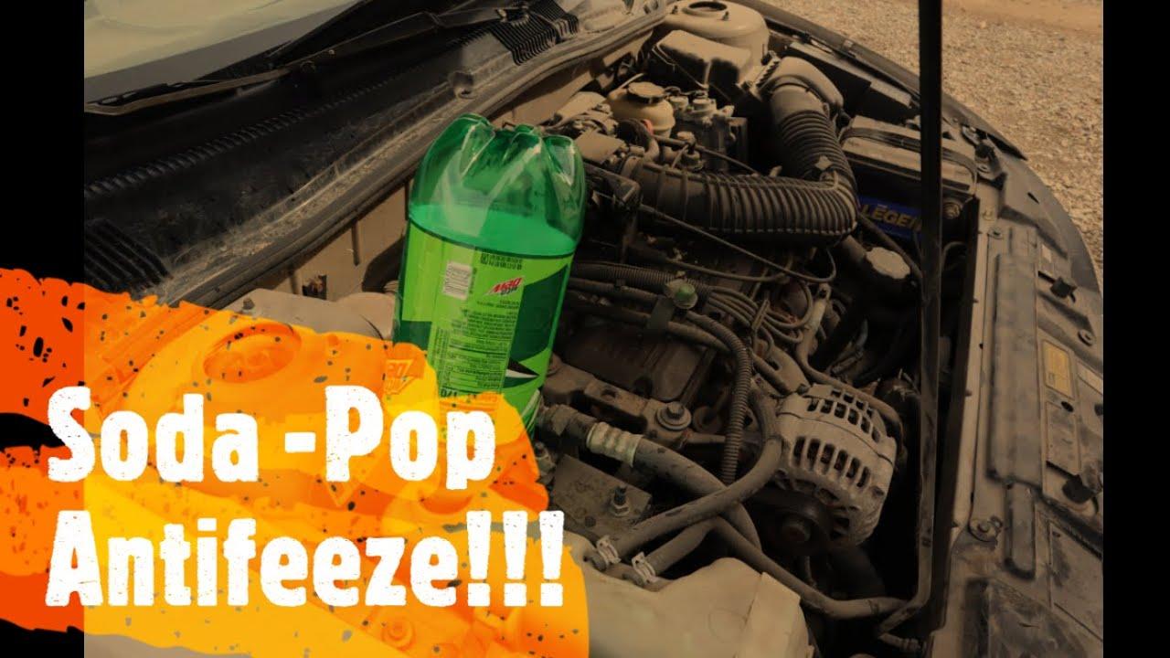 Aarons Garage Episode 3 - Soda pop Anti Freeze