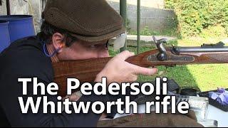 Shooting the Pedersoli Whitworth rifle
