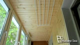 видео Утепление балкона пенофолом: советы специалистов и инструкция