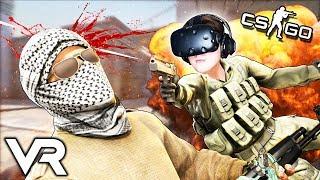 CS:GO В VR! ДУЭЛЬ! АЛЕКС ФОКС ПРОТИВ СЛЕДОВАТЕЛЯ ( HTC Vive )