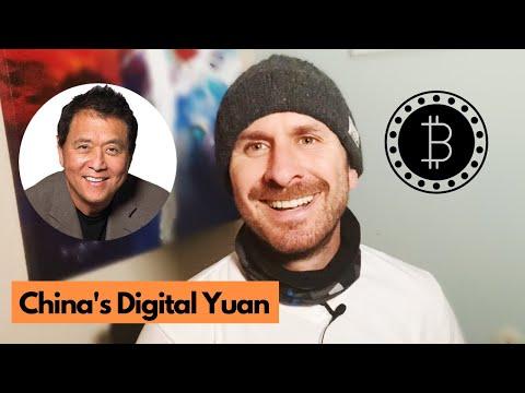 China's New Digital Yuan Currency - FedCoin Competition? PLUS Robert Kiyosaki On BTC