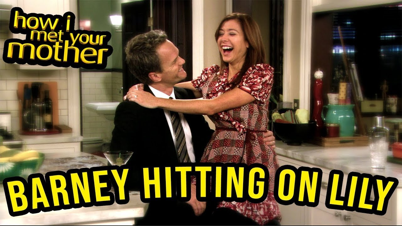 Barney Hitting On Lily - How I Met Your Mother