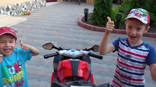 Best Kidscoco Club Videos of 2018 / Kids Ride on Dirt Cross Bike / Childrens Power Wheels Toy