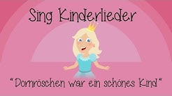 Dornröschen war ein schönes Kind - Kinderlieder zum Mitsingen | Sing Kinderlieder