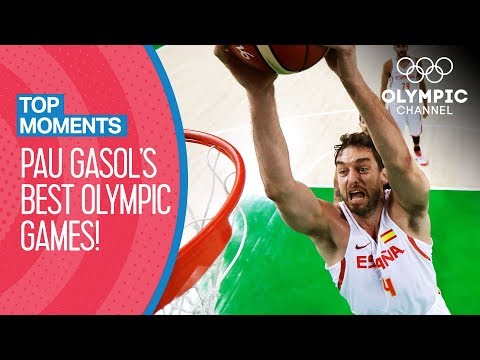 Pau Gasol's Best Olympic Performances | Top Moments