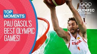 Pau Gasol's best Olympic matches ever | Top Moments