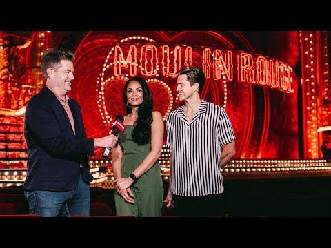 MOULIN ROUGE! Stars Karen Olivo, Aaron Tveit And More On Bringing The Baz Luhrmann Hit To Broadway