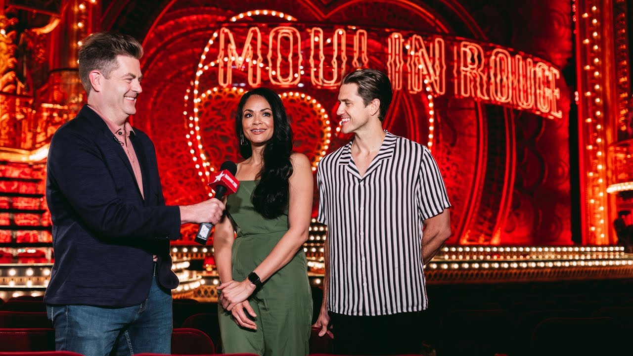 Moulin Rouge Stars Karen Olivo Aaron Tveit And More On Bringing The Baz Luhrmann Hit To Broadway Youtube