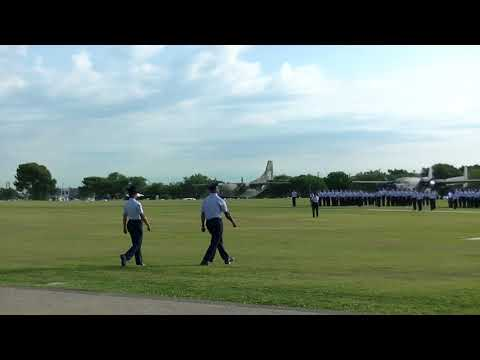 Air Force Basic Military Training Parade, 27 April 2018 (Official)