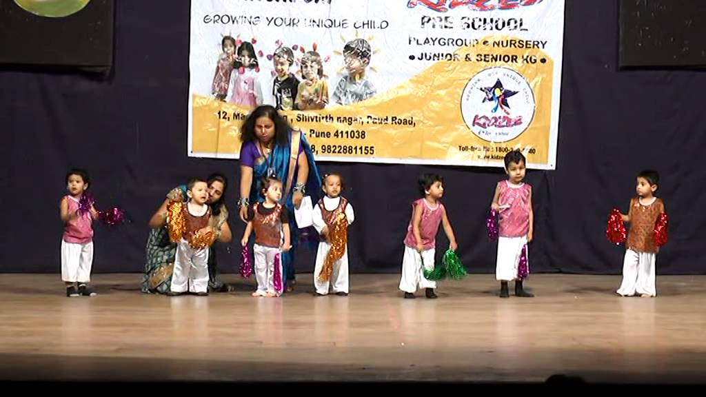 kidzee annual day function play group song youtube