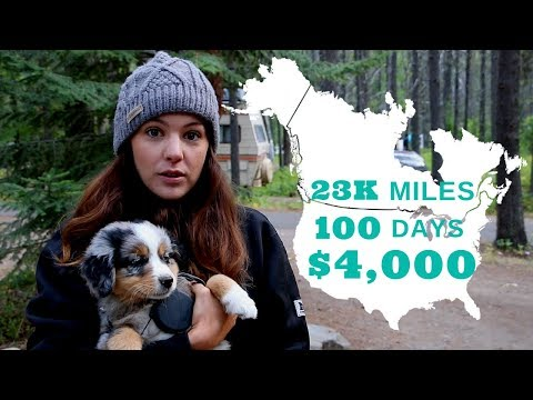 23] How Much Does It Cost To Road Trip The USA? | Abandon Comfort - Cross Country