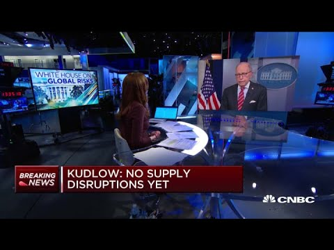Watch CNBC's Full Interview With Larry Kudlow On Coronavirus, Economy