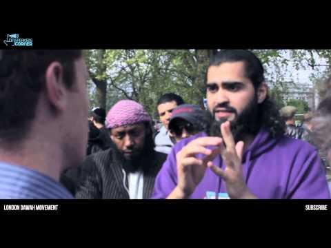 Muslim uppercuts philosopher!