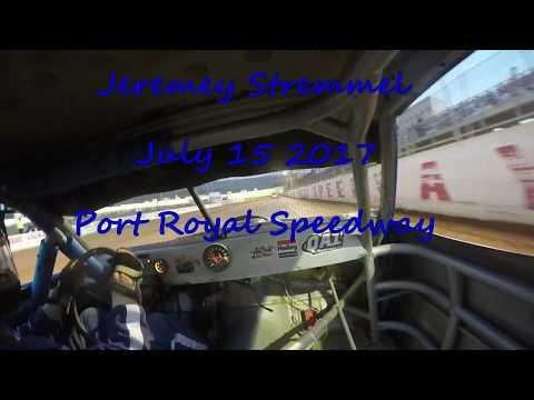July 15 2017 Stremmel port royal speedway