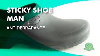 e2fc10e1f0 StickyShoe Man Calçado Antiderrapante - Mameluko Calçados e Uniformes  Profissionais