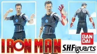 (ESPAÑOL) IRON MAN 3 - Tony Stark - S.H.figuarts - review - reseña - figura - juguete - ironman