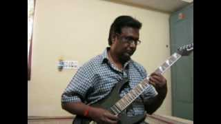 Tam nam tam nam kannada song on Guitar by Vijayaraj .AVI