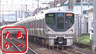 【新快速 130km/h貫禄の走り】高速通過集!JR西日本223系 225系電車 thumbnail