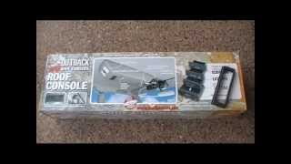 outback roof console install for 120 series prado part 1 mp4