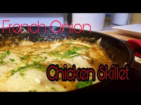 French Onion Chicken Skillet