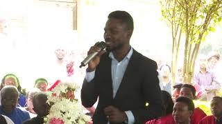 Bobi Wine agamba nti talina mpalana ku Museveni wabula ayagala ntebe
