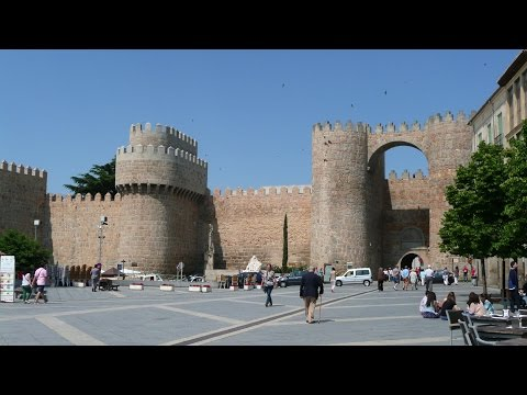 SPAIN Avila, Castilla y Leon (hd-video)